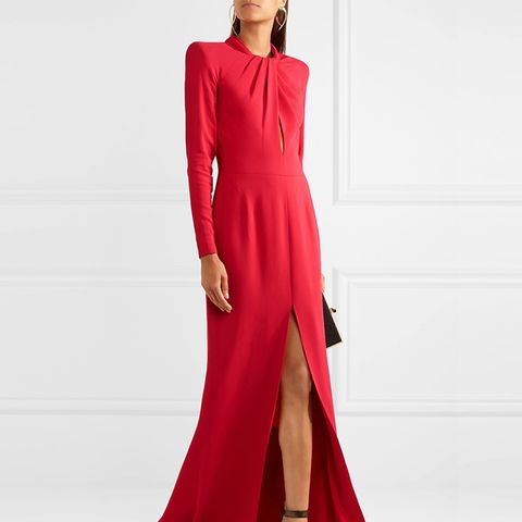 Twisted Crepe Gown