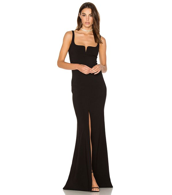 Constance Gown in Black. - size 0 (also in 10,2,4,6)