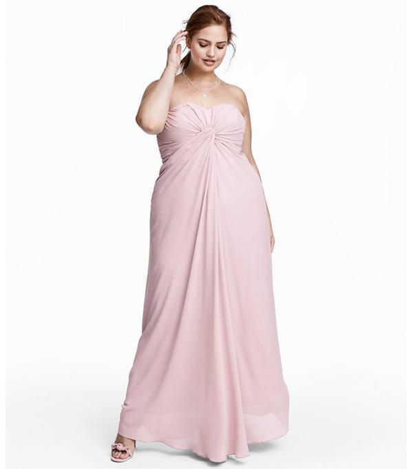 H&M+ Long Bandeau Dress