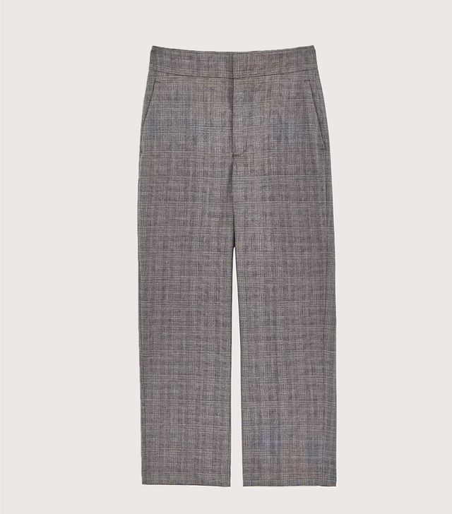 Zara Checked Trousers