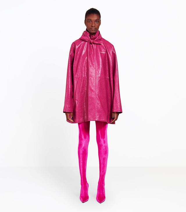 pantashoes trend: Balenciaga Knife Spandex Thigh Boots