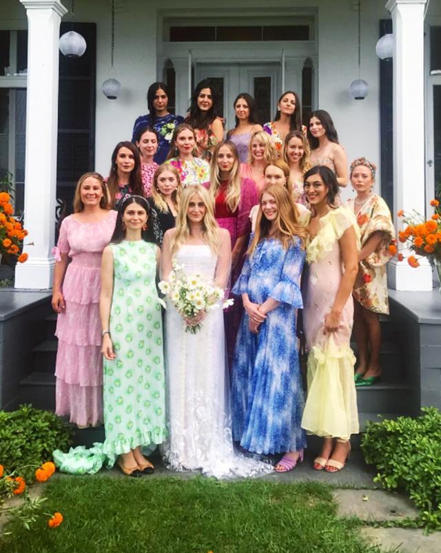 Mary Kate and Ashley Bridesmaid dresses