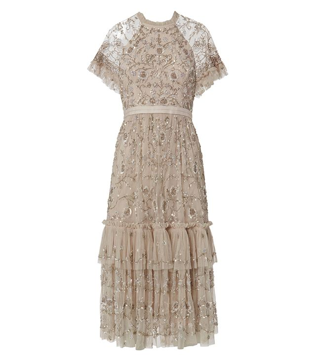 Needle & Thread Constellation Lace Dress