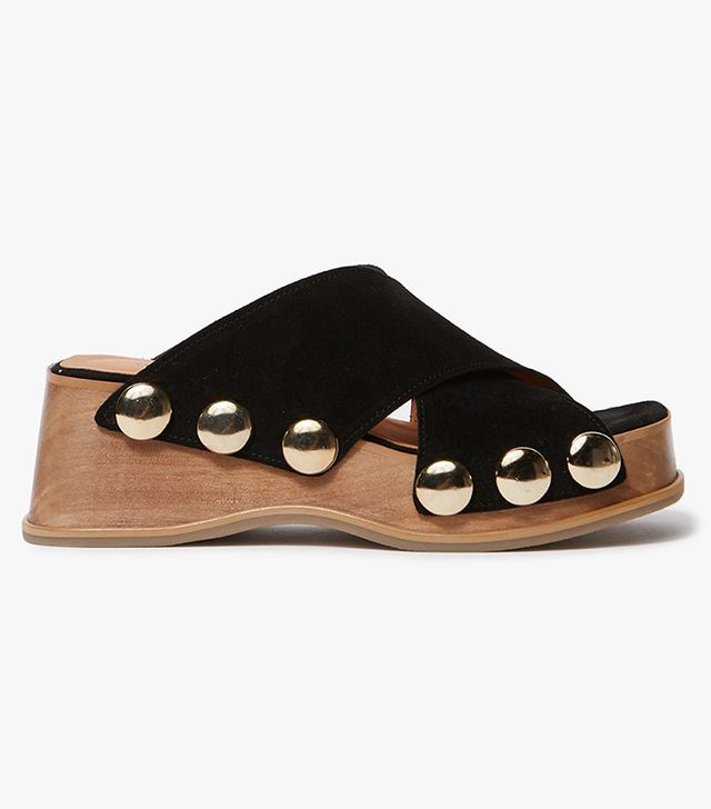 Valerie Sandals in Black