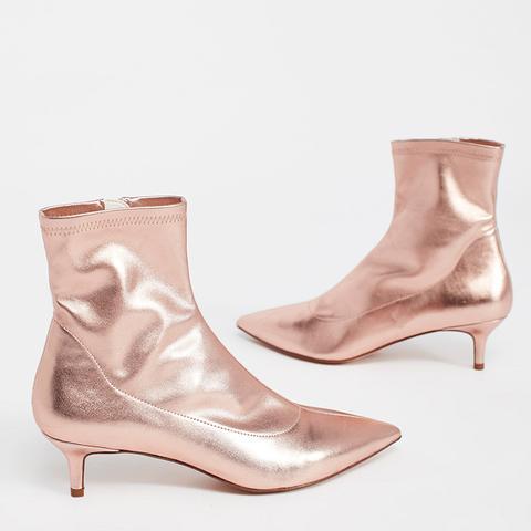 Marilyn Kitten Heel Boots