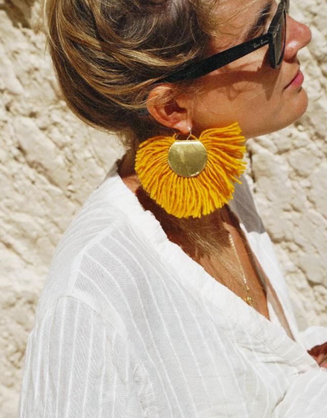Best tassel earrings: Lucy Williams