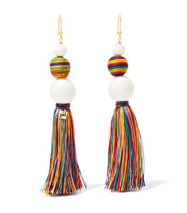 Best tassel earrings: Rosantica beaded earrings