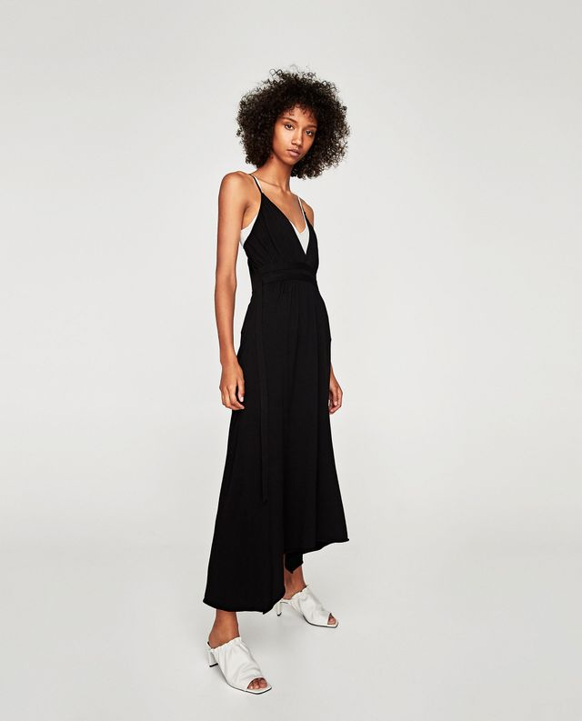 Zara Long Strappy Dress