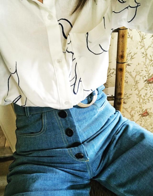 Paloma Wool Leandra naked shirt: Laura Jackson