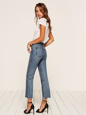 Reformation Is Selling the Most Controversial Denim Trend of the Year