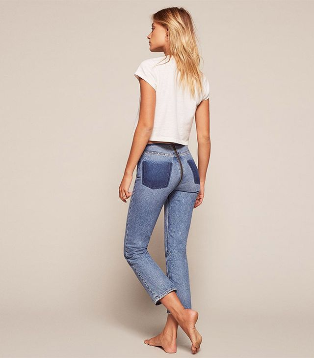 The Jeans From the Back: