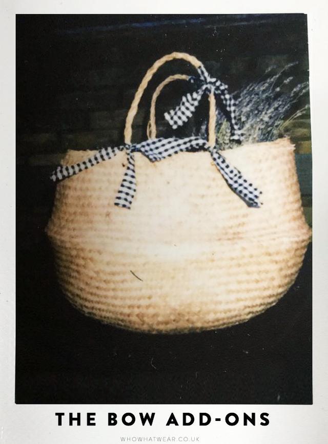 Ikea Basket Bag