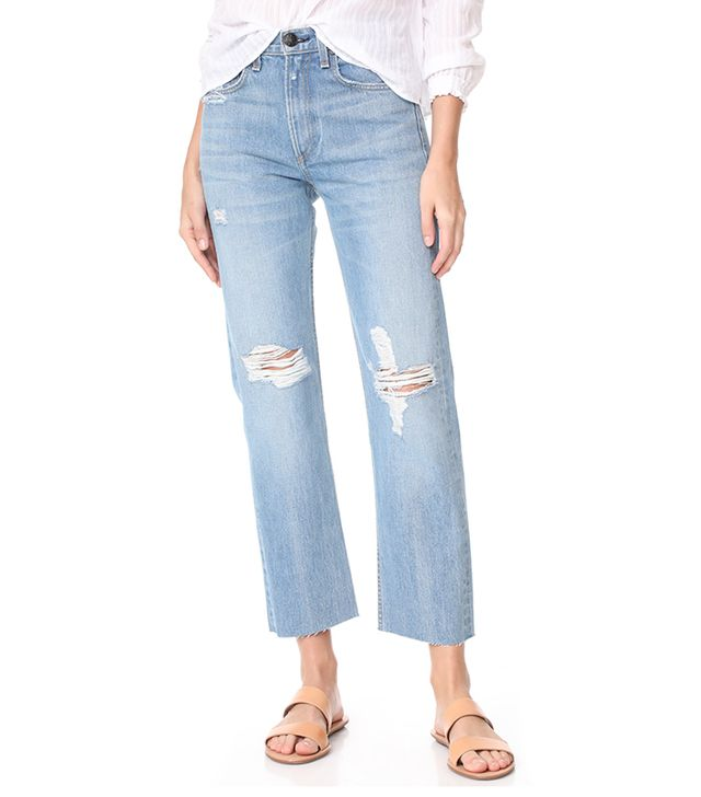 Rigid Straight Leg Jeans