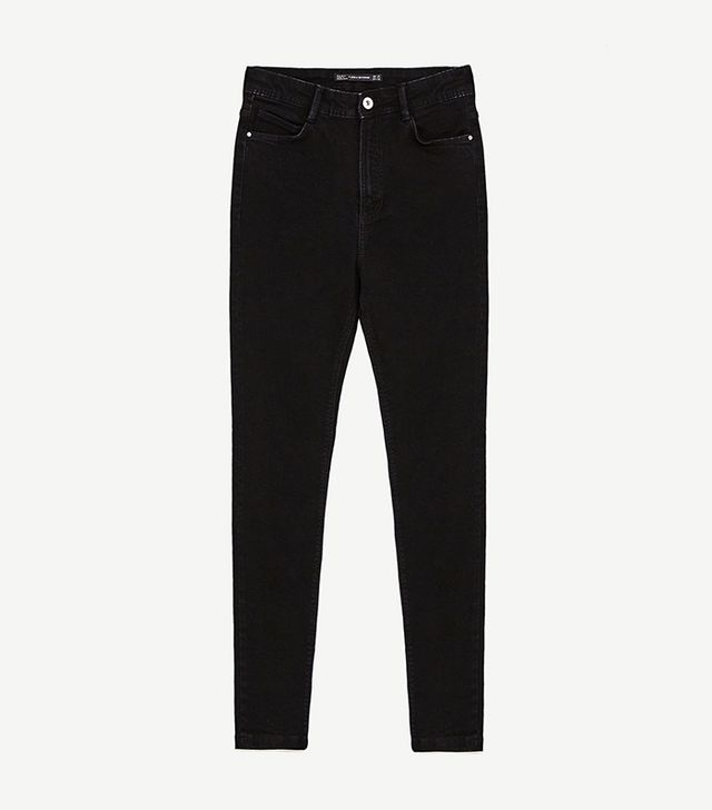 Zara High-Rise Skinny Fit Jeans