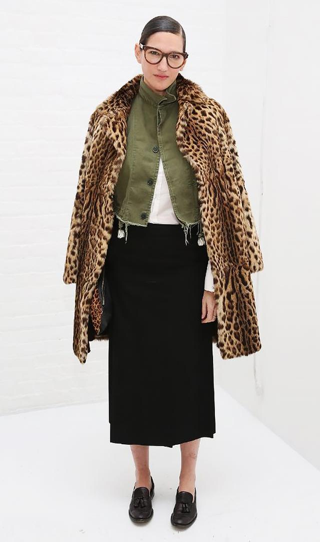 She Treats Leopard Like It's a Neutral