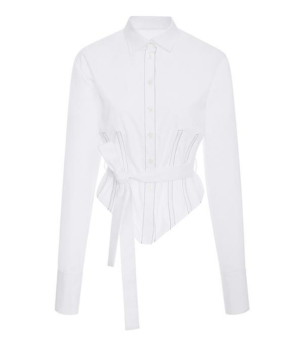 Belted Corset Shirt