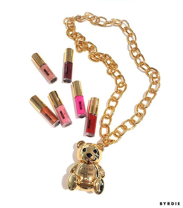 Moschino x Sephora Collection Bear Lip Gloss Chain