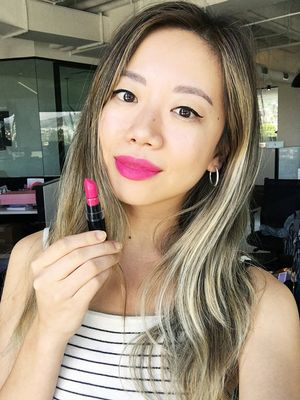 """Protest With Your Dollar"": Why Team Byrdie Is Wearing Hot Pink Lipstick Today"