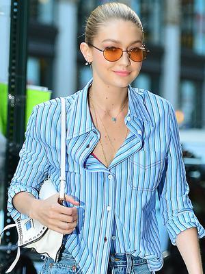 Gigi Hadid, Your Shirt Is Trending on Pinterest