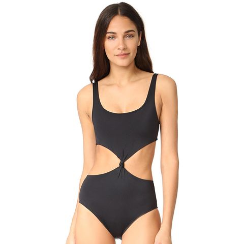 The Bella Knot Front One Piece