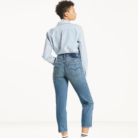 Altered Straight Leg Jeans