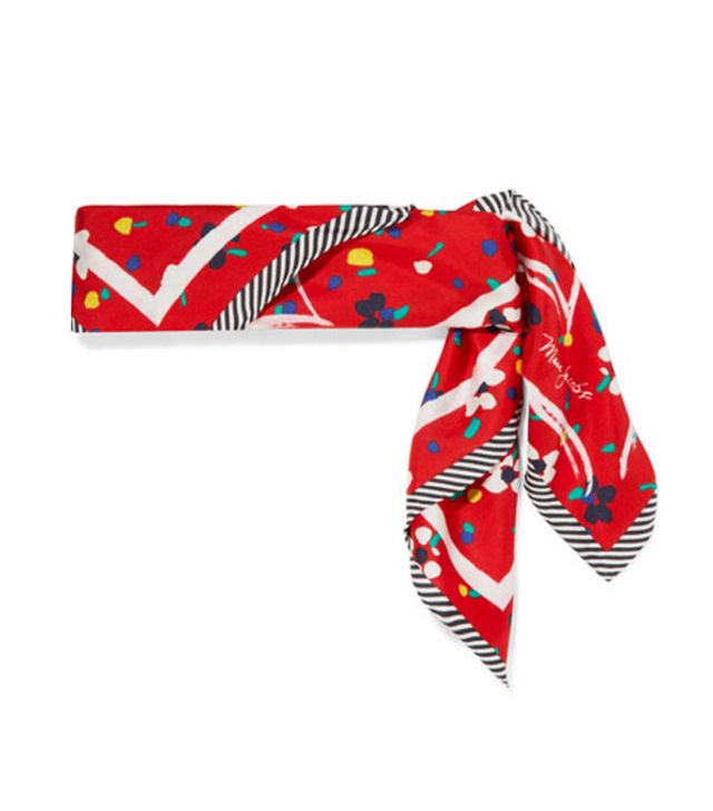 Best printed scarves: Marc Jacobs