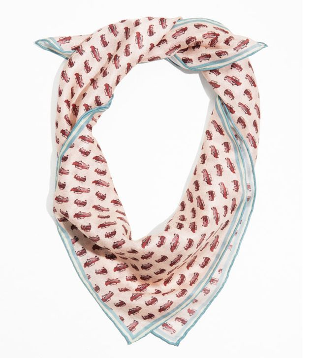 Best printed scarves: car and other stories