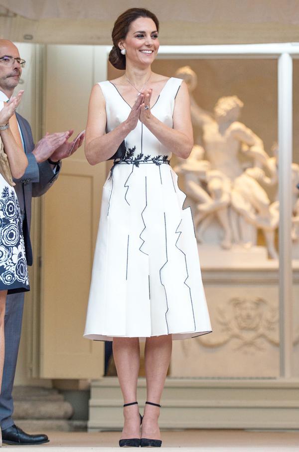 Kate Middleton Poland Germany tour outfits