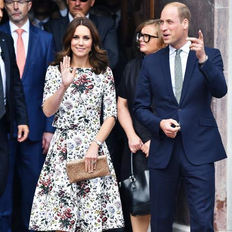 Kate Middleton Poland Germany tour