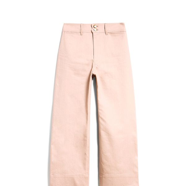 Merida Denim Pants in Mauve
