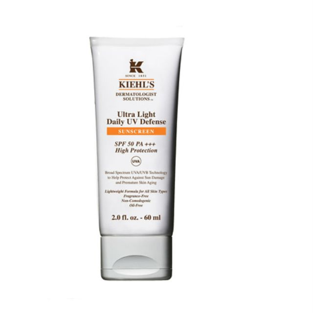 How to look after oily skin in summer: Kiehl's Ultra Light Daily UV Defense
