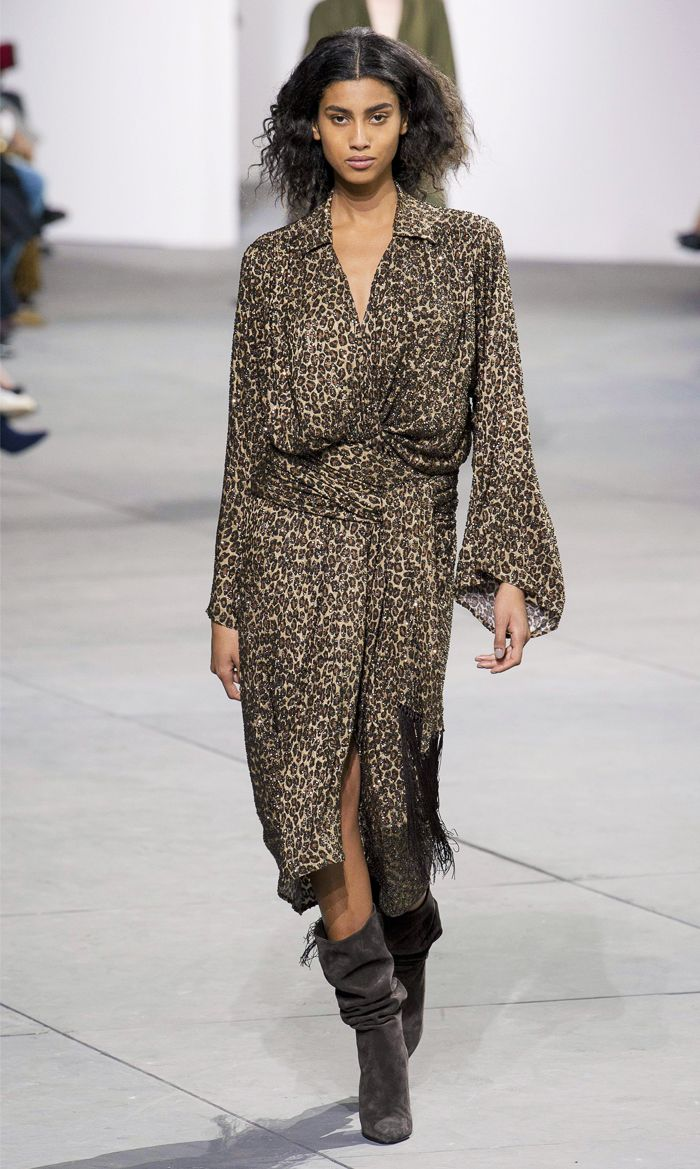 Leopard print shopping picks: Michael Kors Autumn Winter 2018