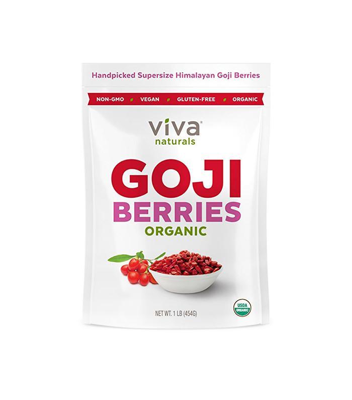 Goji Berries by Viva Naturals