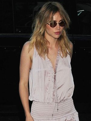 We Didn't Expect These Shoes With This Look, Suki Waterhouse