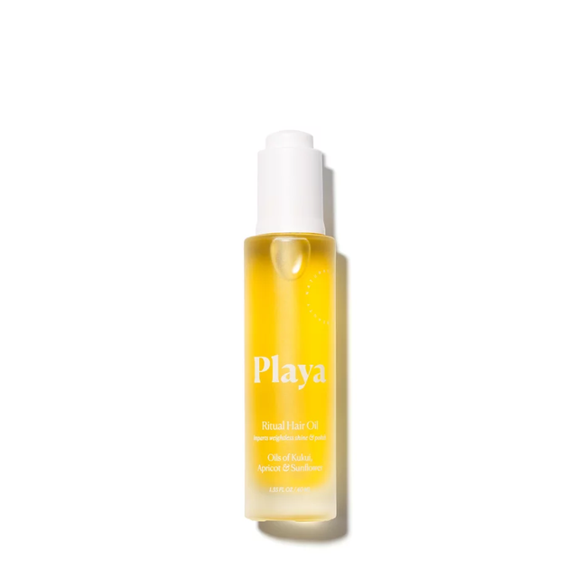 playa ritual hair oil - summer beauty products