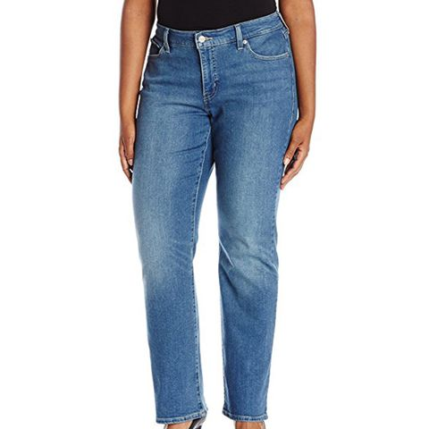 414 Relaxed Straight Fit Jeans