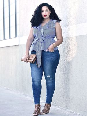 The Best Jeans for Plus-Size Women