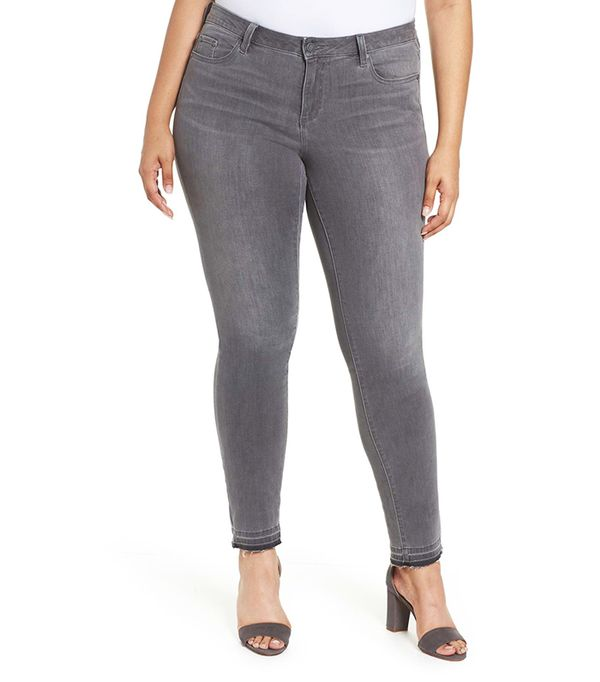 Plus Size Women's Two By Vince Camuto Release Hem Skinny Jeans