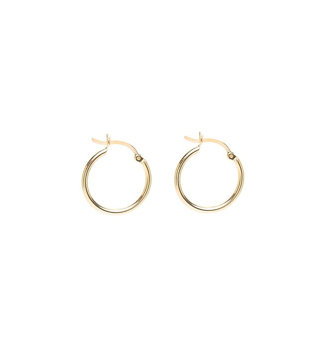 Louise Damas Small Hoop Earrings