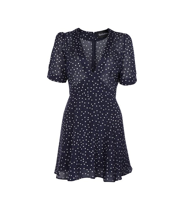 Réalisation Par The Ozzie Dress in Navy Star
