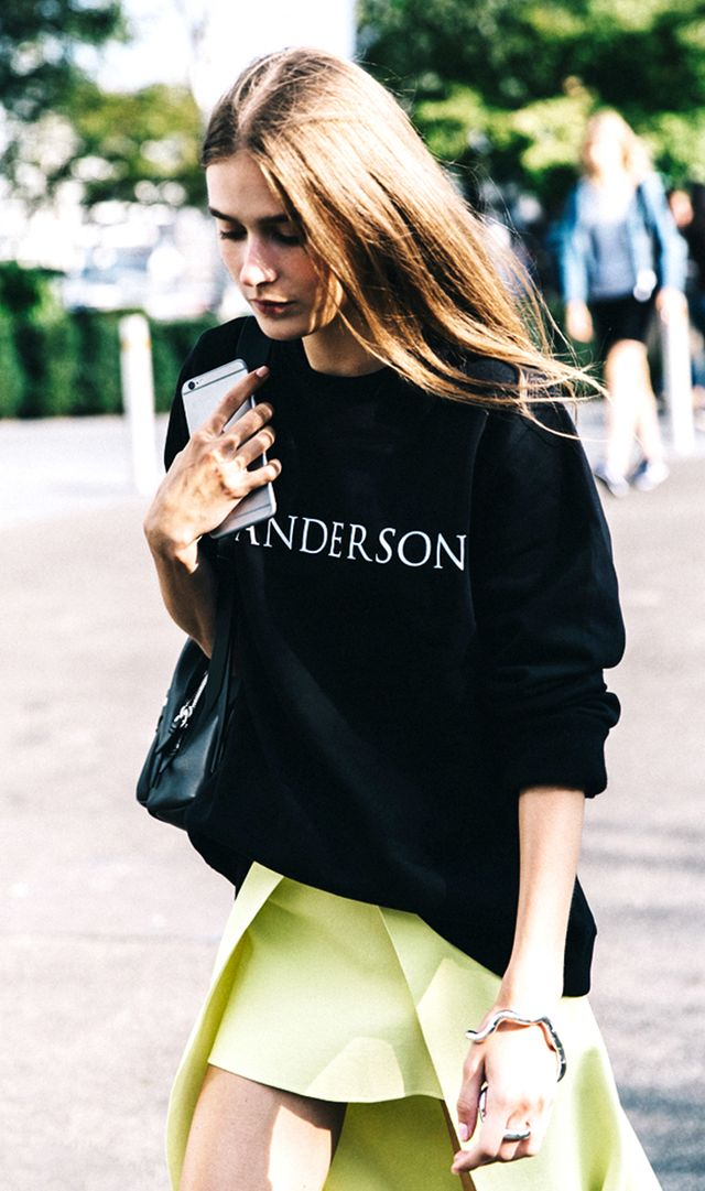 London Fashion Week SS16 Street Style