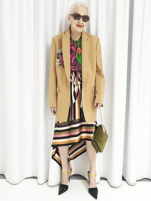 I Want to Dress Like This 95-Year-Old Fashion Model