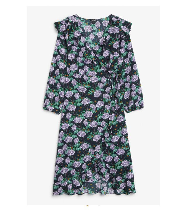 Monki Wrap Dress