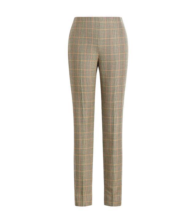 Ralph Lauren Annie Glen Plaid Wool Pants