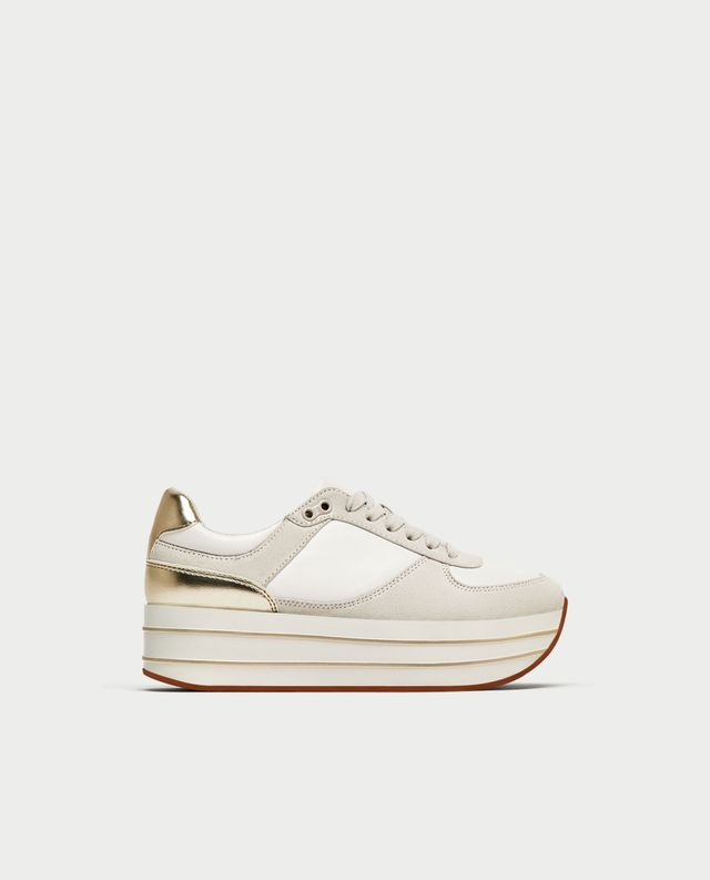 Zara Platform Sneakrs