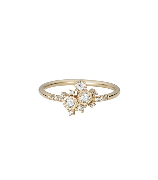 Jennie Kwon Diamond Cluster Ring
