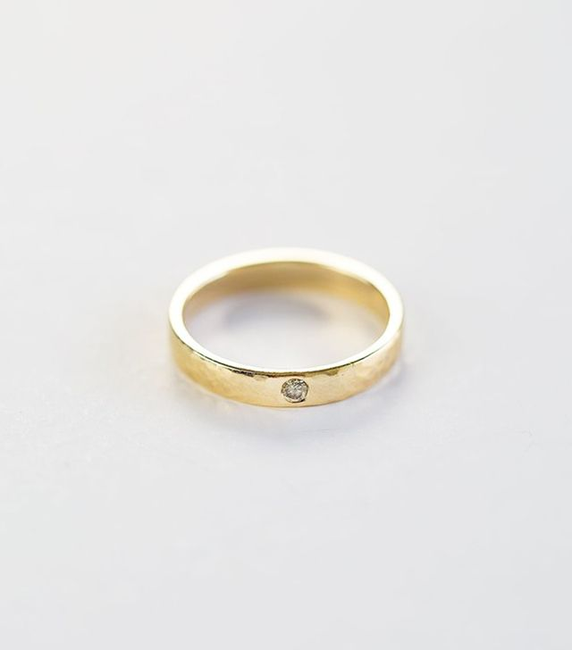 Octavia Elizabeth Single Etoile Diamond Ring