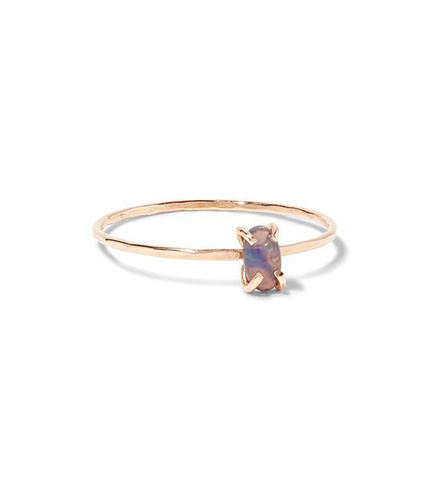 14-karat Gold Opal Ring