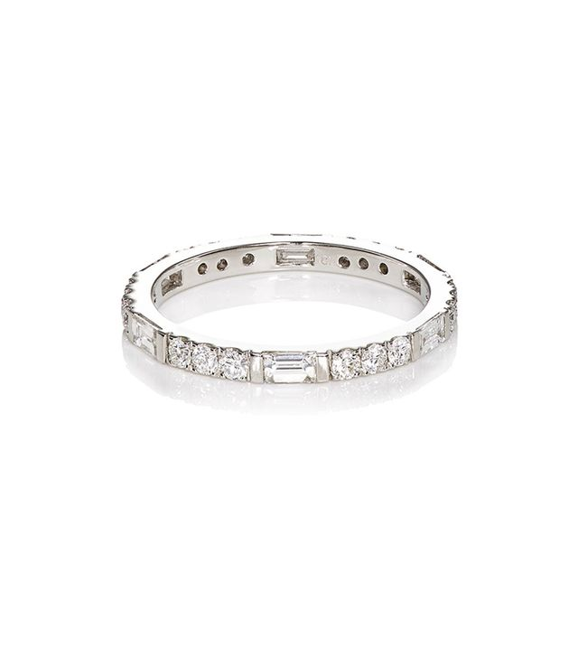 Women's Thin Baguette Ring
