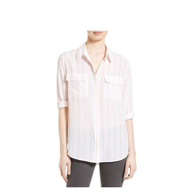 Signature Stripe Silk Shirt